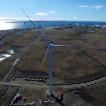 Con éxito comenzaron las primeras pruebas del parque eólico en Cabo Negro