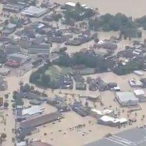 Siguen las lluvias torrenciales en Japón, que han dejado al menos 45 muertos