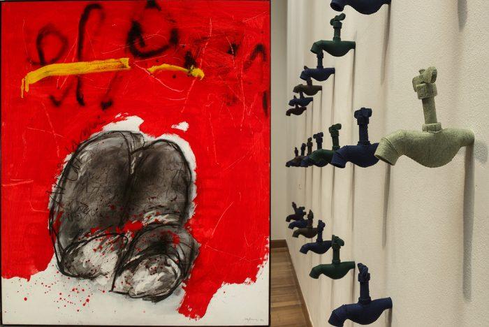 """Exposición """"De la Pintura a la Instalación"""" del MAVI"""