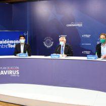 Reporte sobre covid-19: Ministro Paris destaca disminución al 18% de la tasa de positividad