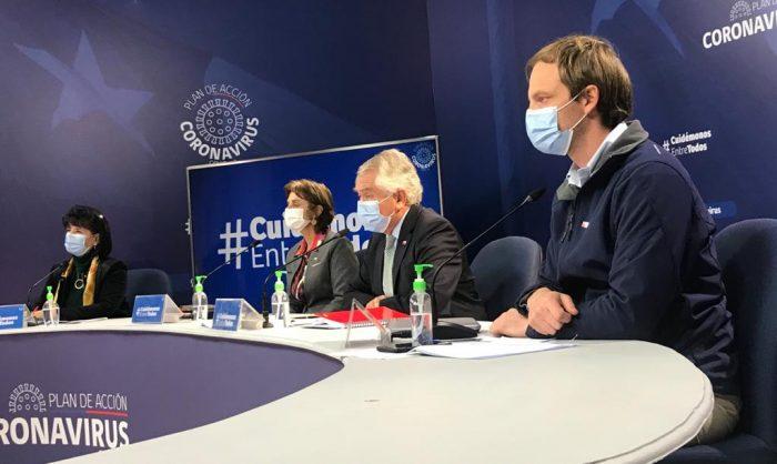 Ministro Paris ratifica mejoría en cifras de covid-19 y dice que se está trabajando en un plan de desconfinamiento