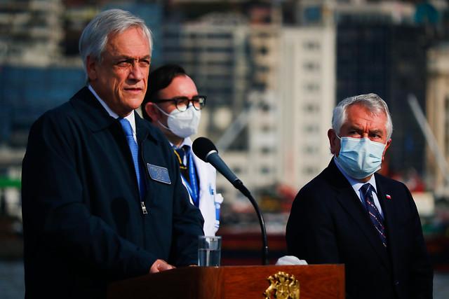 Piñera y Paris: una sociedad estrictamente profesional