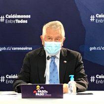 Reporte por covid-19: Ministro Paris destaca que positividad de exámenes PCR llegó a 10%