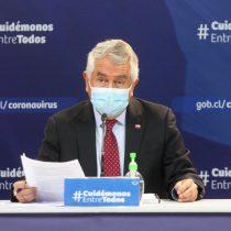 Reporte del Minsal: ministro Paris destacó baja de 31% de casos confirmados de Covid-19 en las últimas dos semanas