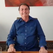 Tras haber contraído COVID-19: Bolsonaro publicó video consumiendo dosis de hidroxicloroquina