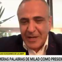 Pablo Milad y los reclamos por proceso de votación en la ANFP: