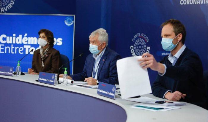 Minsal reporta 104 fallecidos y 2.475 nuevos casos de Covid-19 en la última jornada