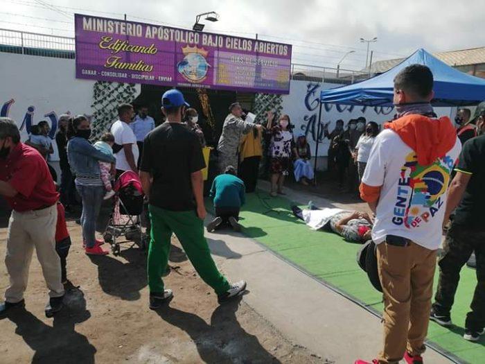 Carabineros detuvo a pastor evangélico que realizó culto religioso en Arica