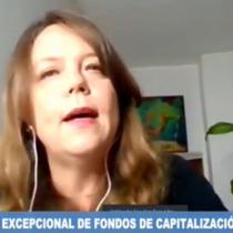 Senadora Ena Von Baer (UDI) cita a Salvador Allende para justificar rechazo al retiro de fondos de pensiones