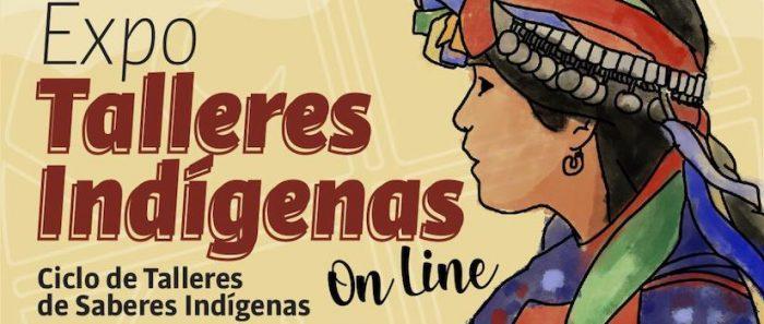 Expo Talleres Indígenas de Corporación Cultural de Peñalolén vía online