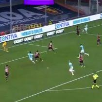 Alexis Sánchez anotó el segundo gol en la victoria por 3 a 0 del Inter sobre el Genoa