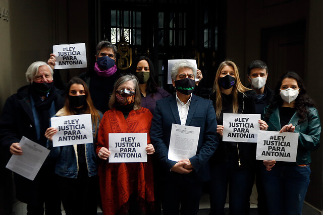 """Presentan proyecto de ley """"Justicia para Antonia"""" para mejorar protección a víctimas de delitos sexuales"""