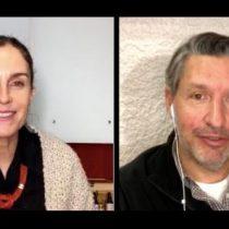 Conversaciones sobre pandemia con María Gracia Subercaseaux y médico Enrique Waugh vía online