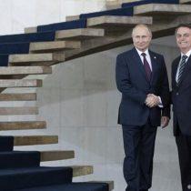 Putin desea a Bolsonaro una rápida recuperación del coronavirus
