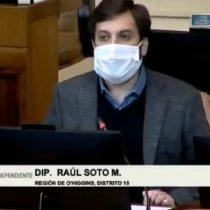 """Diputado Raúl Soto (PPD): El retiro del 10% de los fondos de la AFP """"no es un regalo, es un derecho"""""""