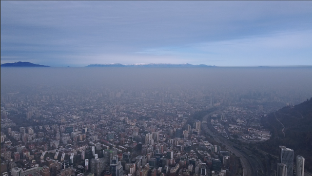 Mala calidad del aire: decretan tercera preemergencia ambiental del año en Santiago