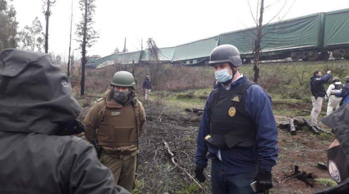 Se descarrila tren de carga en La Araucanía: empresa afectada denuncia ataque