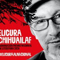 Académicos y artistas suman razones para nominar a Elicura Chihuailaf como Premio Nacional de Literatura 2020