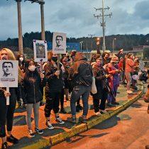 La llegada de Martín Pradenas al complejo penitenciario Llancahue de Valdivia para cumplir prisión preventiva