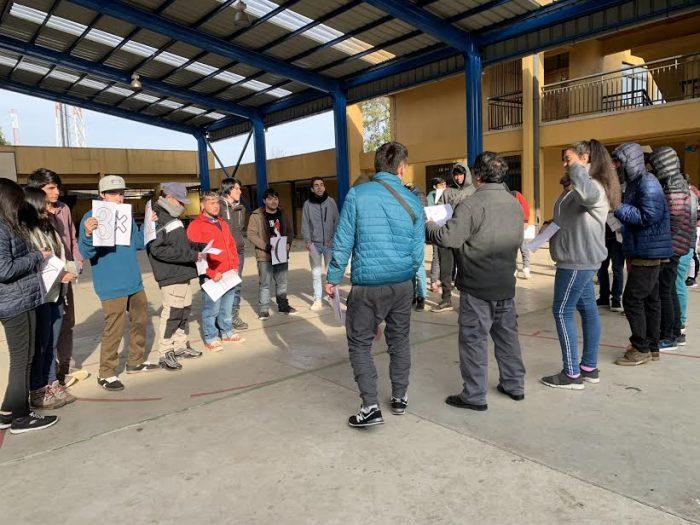 """Rosicler Urra, directora de escuela para adultos en Parral:  """"Con la pandemia, la desigualdad nos cayó encima"""""""