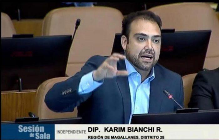Diputado Karim Bianchi (IND) presenta proyecto que permite un segundo retiro de fondos de las AFP