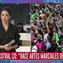 Periodista Argentina se defiende en vivo de dichos machistas de fiscal respecto a la legítima defensa de mujeres víctimas de violencia de género