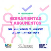 """""""Kit constituyente"""" entrega herramientas para la participación de las mujeres en el plebiscito"""