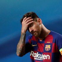 Lionel Messi se molestó con hinchas que lo esperaban tras su entrenamiento con el Barcelona