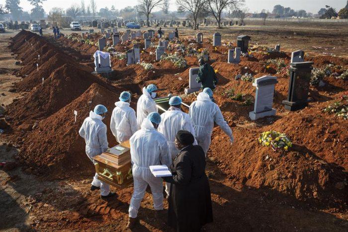 El número de muertos por coronavirus en el mundo supera los 700.000 casos