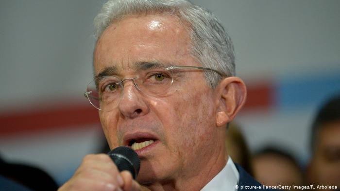 Álvaro Uribe sobre su detención: