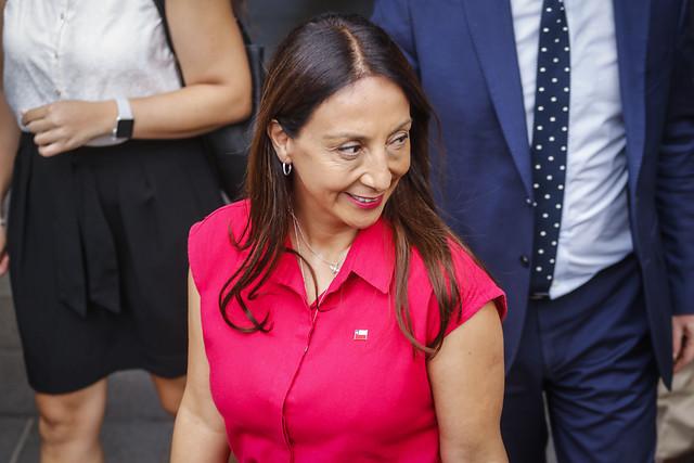 Ministra Pérez ante protocolo sanitario aprobado por la Conmebol: