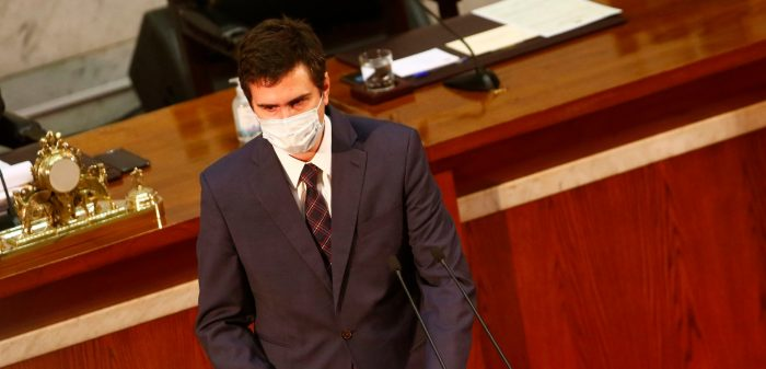 Diego Paulsen en la mira de la oposición: DC reactiva opción de censura a la mesa de la Cámara de Diputados