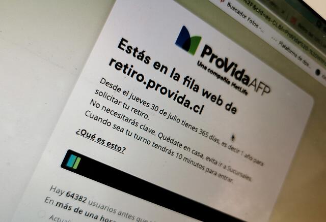Retiro de ahorros previsionales: AFP Provida informó el pago del 100% de las solicitudes aceptadas hasta el 2 de agosto