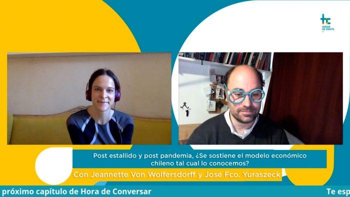 Jeannette Von Wolfersdorff en Hora de Conversar: datos, evidencia y moral tributaria