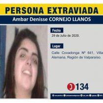 Tras más de una semana desaparecida: Encuentran cuerpo de Ámbar Cornejo en la casa de su madre en Villa Alemana