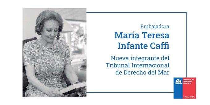 Embajadora de Chile en los Países Bajos es elegida para integrar el Tribunal Internacional de Derecho del Mar