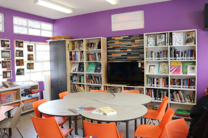 Ministerio de las Culturas inauguró nueva Biblioteca en Centro de Justicia Juvenil