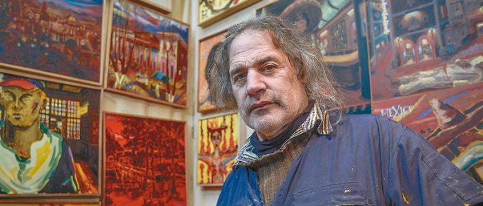 """Pintor Gonzalo Ilabaca expondrá en seminario gratuito """"El ser humano, el hábitat y el mar"""" vía online"""