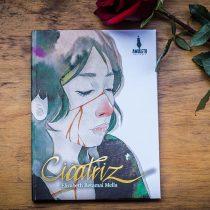 """""""Cicatriz"""": el libro de Elizabeth Retamal, quien presenta una guía ilustrada para volver a amarse"""