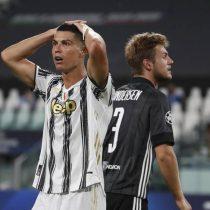 Olympique de Lyon deja sin Champions League a Cristiano Ronaldo eliminando a la Juventus en los octavos de final