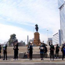 Grupo feminista reinauguró manifestaciones en Plaza Italia tras nuevo paso a transición en Providencia