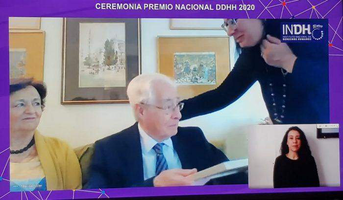 """Roberto Garretón, Premio Nacional de DD.HH: """"Hay una deuda pendiente que nos muestra que la lucha por la justicia es una tarea permanente"""""""