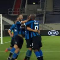 Sin Alexis por lesión: Inter de Milán goleó al Shakhtar Donetsk y es finalista de la Europa League