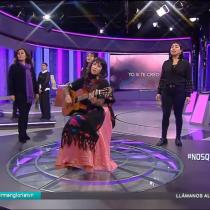 """Padre de Antonia Barra se emociona con versión adaptada de la """"Canción sin miedo"""" interpretada por La Chinganera"""