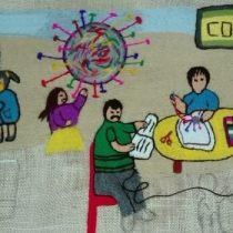 El arte de la lanigrafía convoca a personas de todo el país en proyecto colectivo