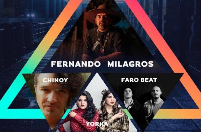 Teatro C y Alto del Carmen traen por streaming a los mejores artistas nacionales en Sesiones Cóndor