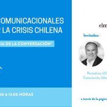 La importancia de la conversación para enfrentar la crisis chilena: participe este miércoles en el segundo webinar de la UC y El Mostrador