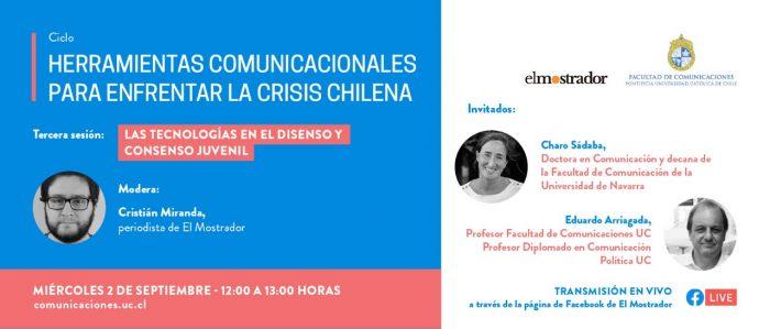 El uso de la tecnología y las redes sociales para superar la crisis: participe este miércoles en el tercer webinar de la UC y El Mostrador