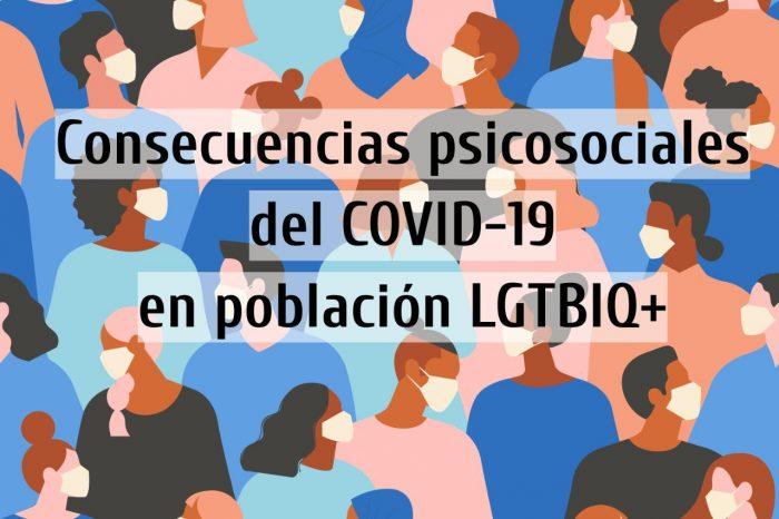 Encuesta revela que comunidad LGTBIQ+ presenta altos riesgos psicosociales producto del confinamiento