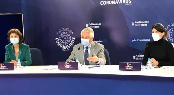 Balance de la situación del COVID-19 en Chile: hay 1.233 contagios, 32 fallecidos y la RM tiene la cifra de casos nuevos más baja desde abril
